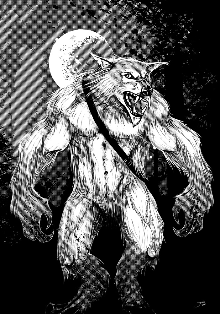 le loupgarou derek walcott